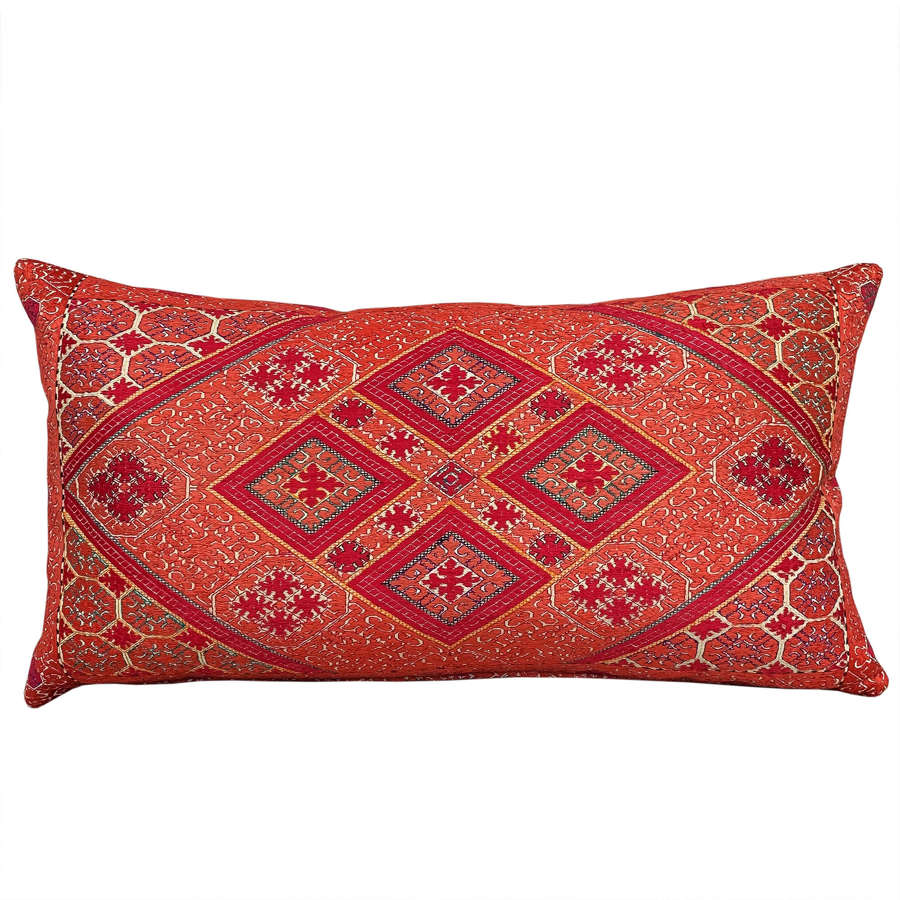 Swat marriage pillow - coral