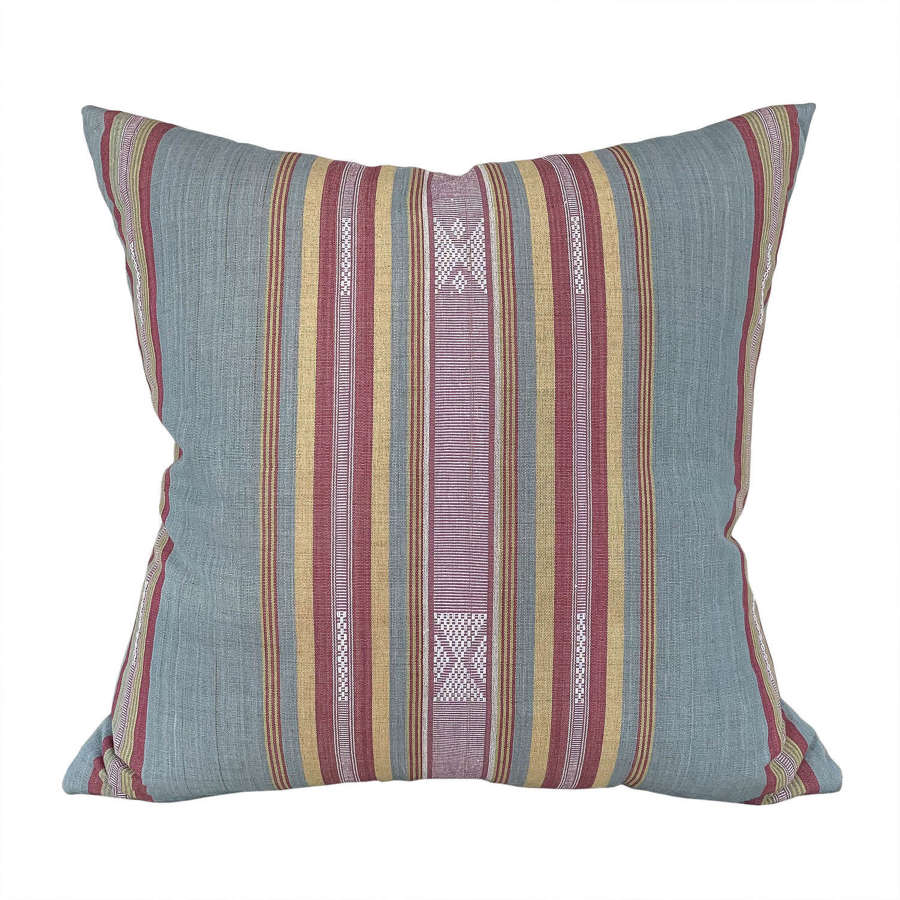 Blue grey Lombok cushions
