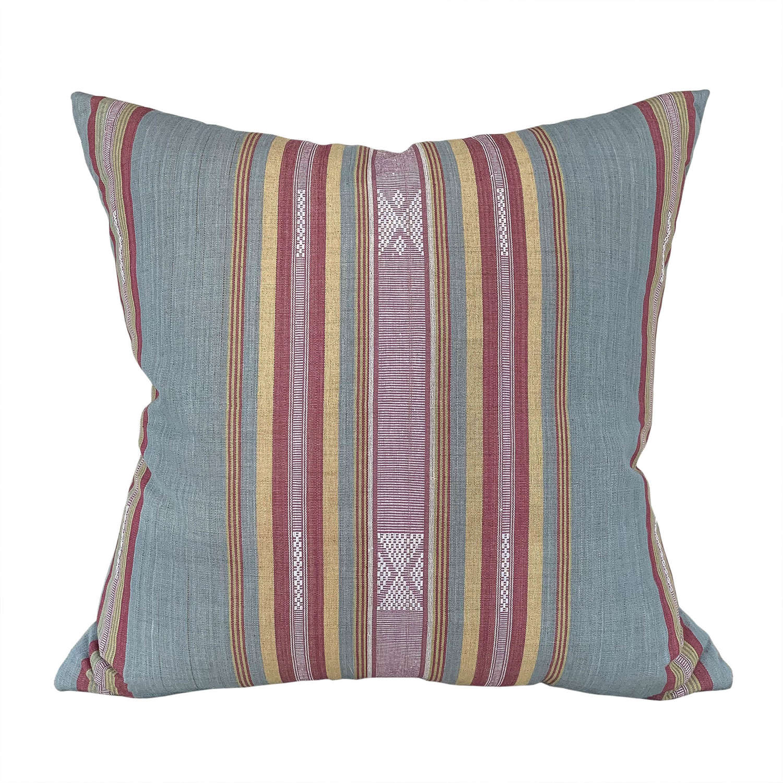 Blue grey Lombok cushions