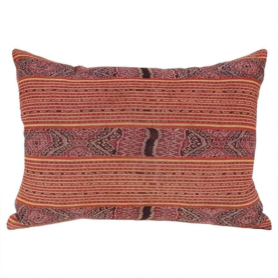 Timor ikat cushion