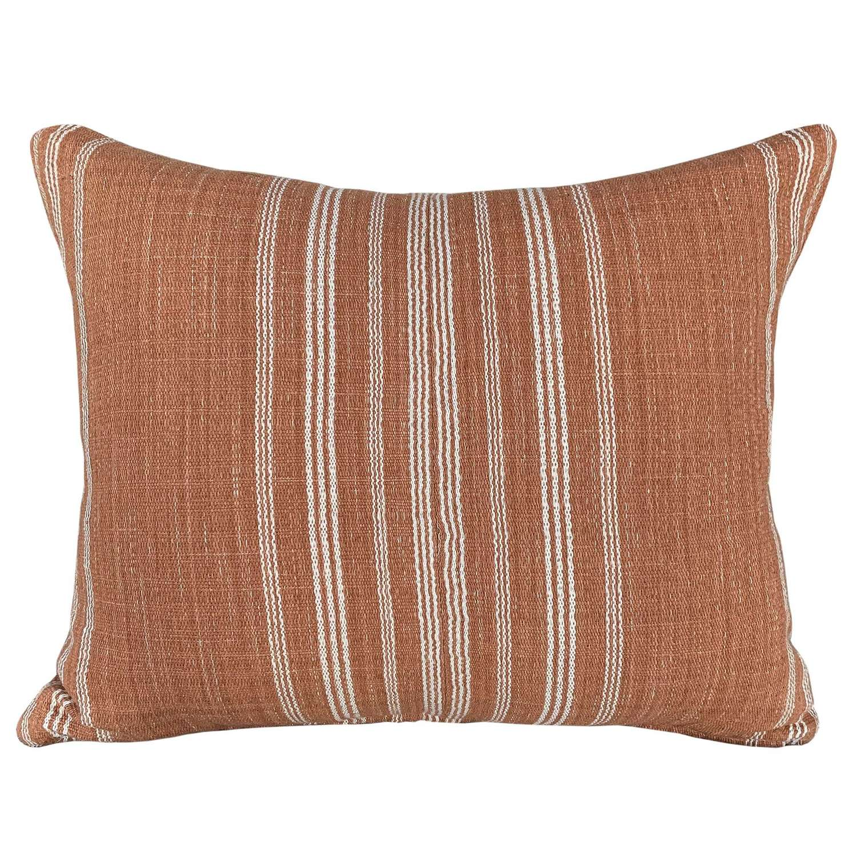 Karen Hmong pale rust cushions
