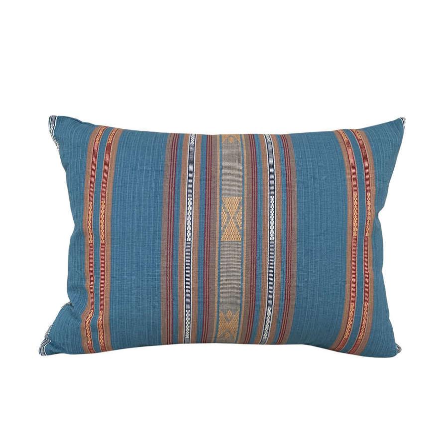 Lombok cushions, light blue