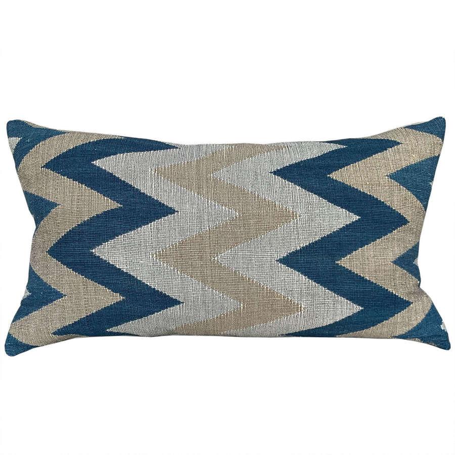 Tai Leu chevron cushions