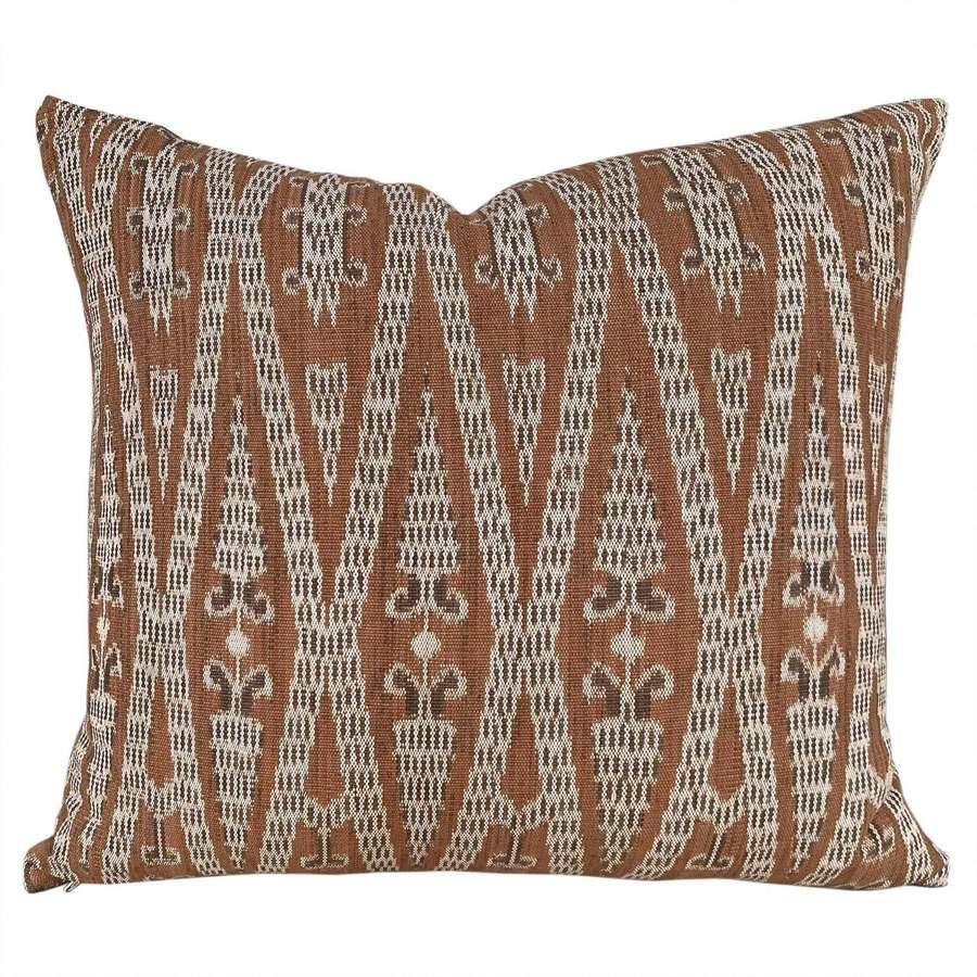 Dayak ikat cushions