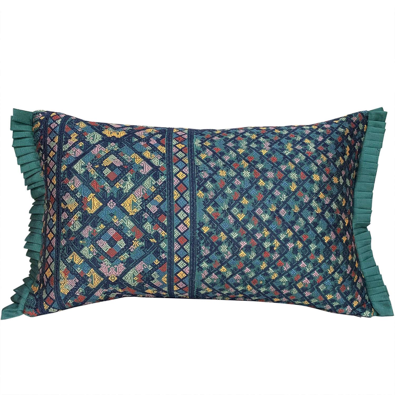 Lao silk brocade cushion