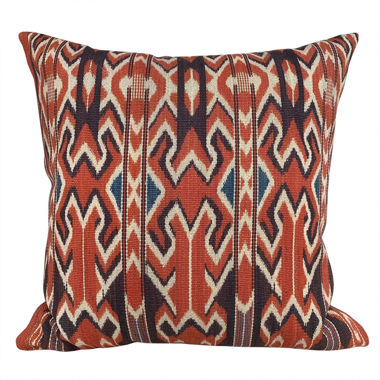 Sekomandi ikat cushions