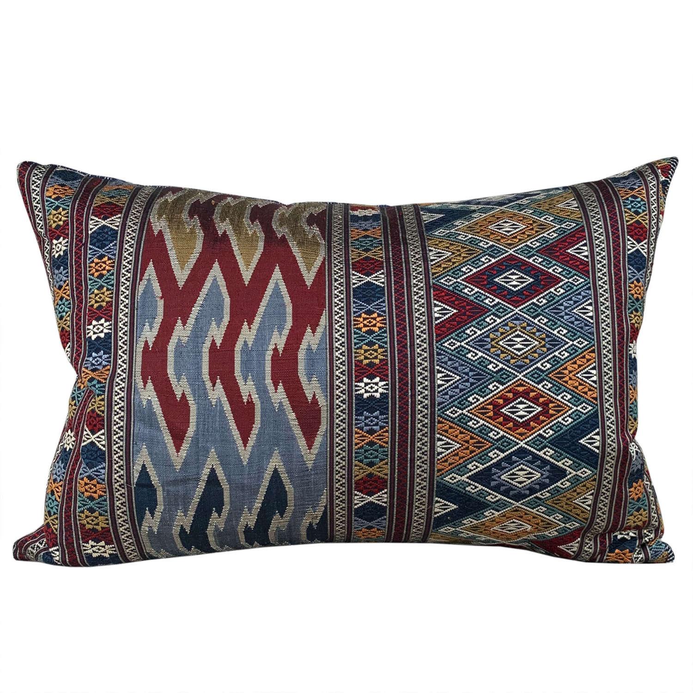 Lao silk brocade cushions