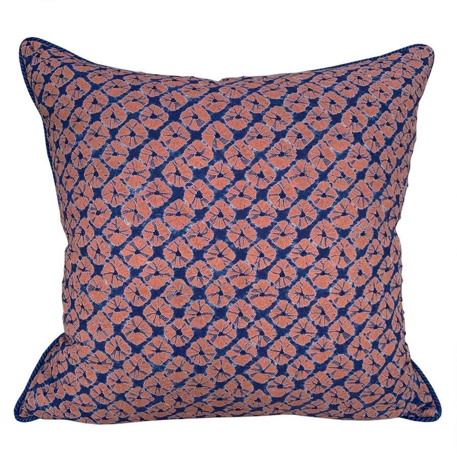 Shibori and Songjiang cushions