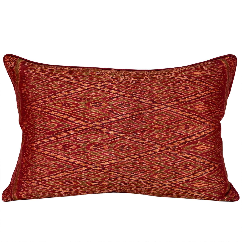 Lao handwoven silk cushions