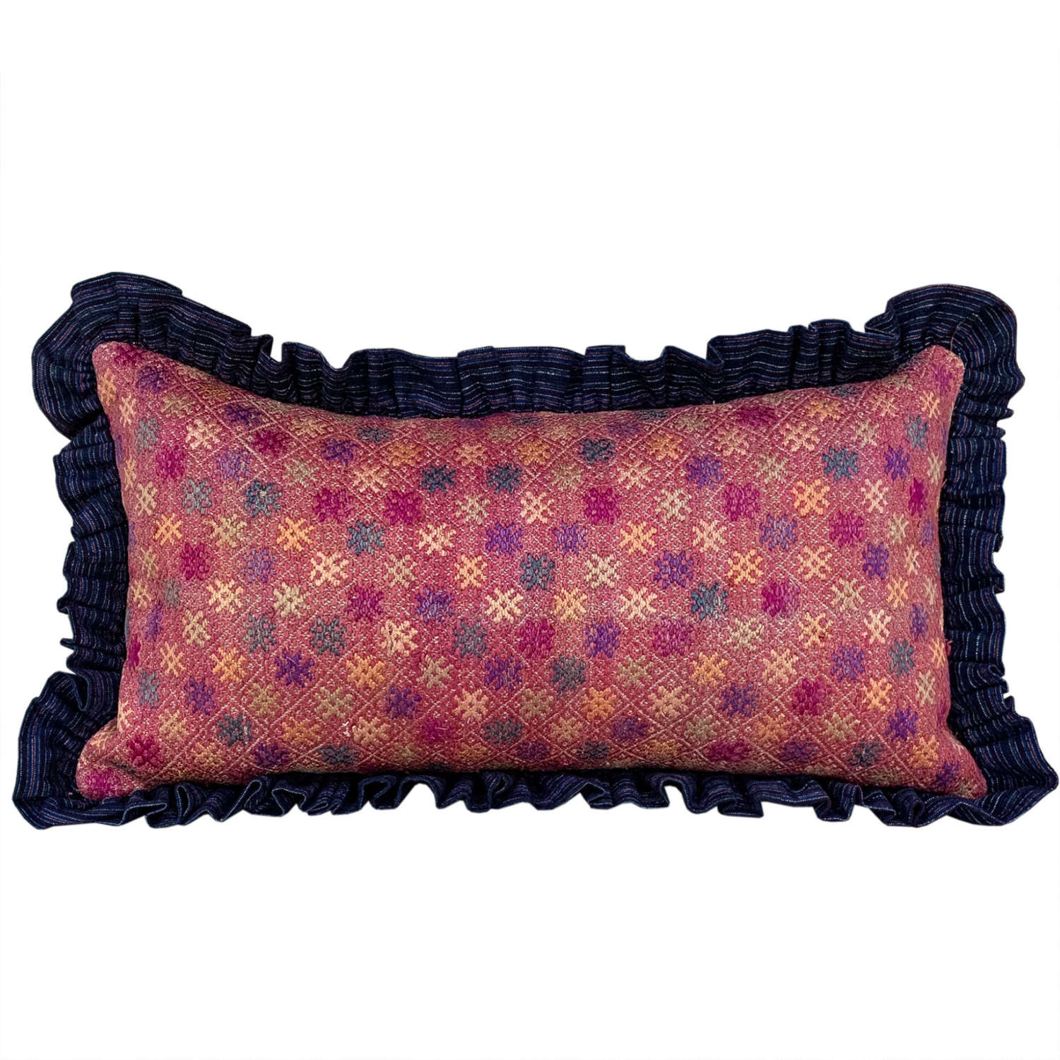 Yao cushions with frill trim
