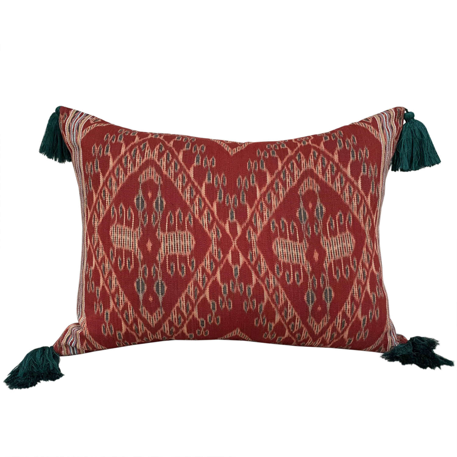 Timor ikat with tassels