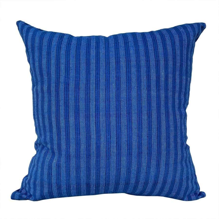 Songjiang indigo cushions